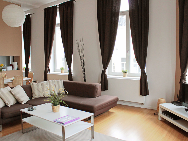 Royal 1484166,Apartamento en Brussel, Brabant, Bélgica para 4 personas...