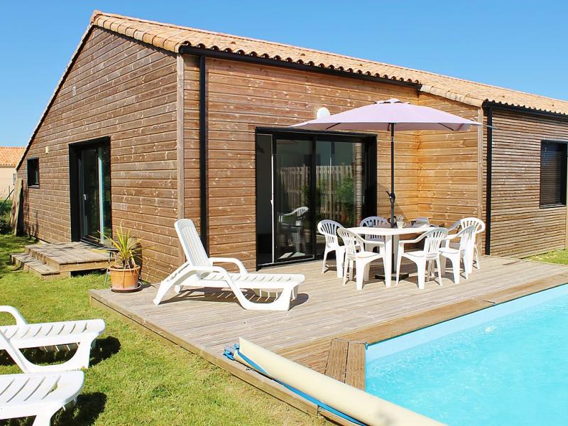 Villa les oyats 1484575,Vivienda de vacaciones en Talmont-Saint-Hilaire, Loire, Francia  con piscina privada para 6 personas...