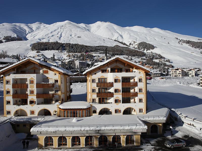 Allegra 1484947,Apartamento en Zuoz, Graubunden, Suiza para 2 personas...