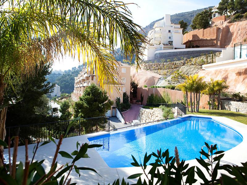 Los lirios 02 1486655,Apartamento en Altea, en la Costa Blanca, España  con piscina privada para 4 personas...