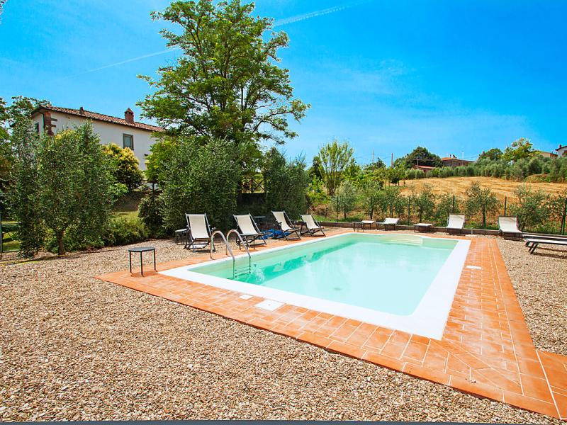 Villa osteria 1486817,Villa en Cortona, en Toscana, Italia  con piscina privada para 11 personas...
