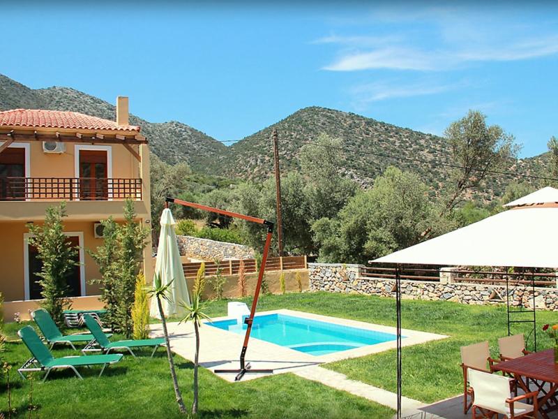 Villa melodia 1487184,Vivienda de vacaciones  con piscina privada en Bali, Rethymnon, Crete, Grecia para 6 personas...