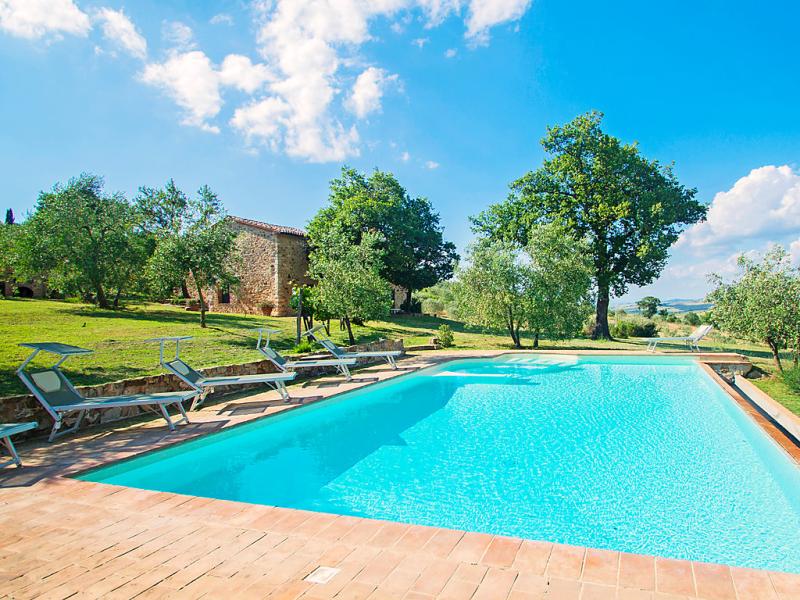 Casa fratti 1490286,Vivienda de vacaciones  con piscina privada en Castiglione d'Orcia, en Toscana, Italia para 10 personas...