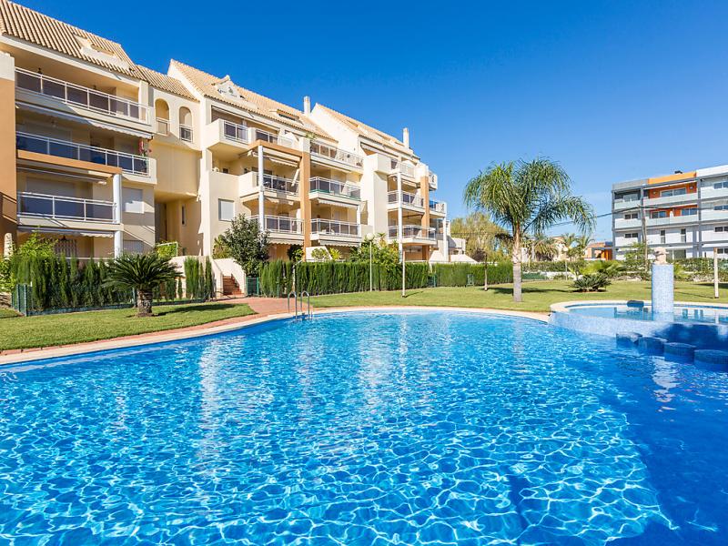 Residencial los sauces 1491972,Appartement  met privé zwembad in Dénia, Alicante, Spanje voor 4 personen...