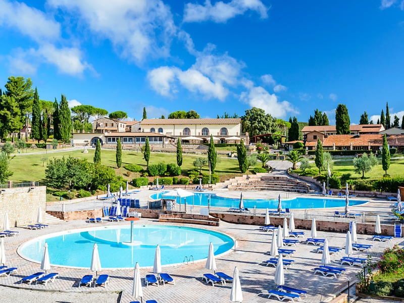 1492189,Apartamento en Massa Marittima, en Toscana, Italia  con piscina privada para 6 personas...