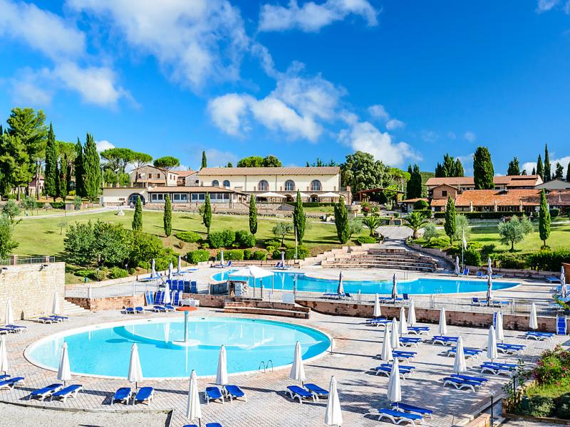 1492212,Apartamento en Massa Marittima, en Toscana, Italia  con piscina privada para 6 personas...