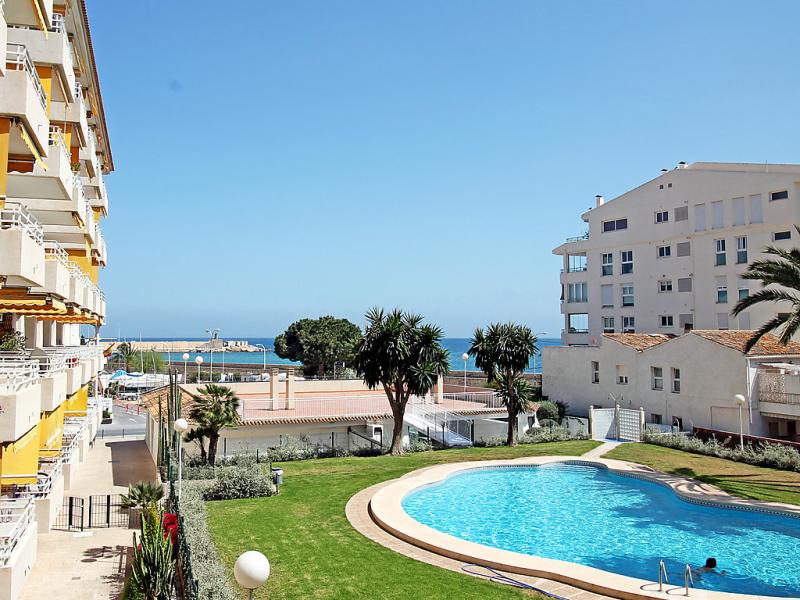 Sol y mar 4j 1492270,Apartamento  con piscina privada en Altea, en la Costa Blanca, España para 4 personas...
