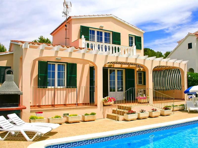 Villas torre soli 116ts 3 dorm 1492468,Vivienda de vacaciones  con piscina privada en Son Bou, Minorca, España para 6 personas...