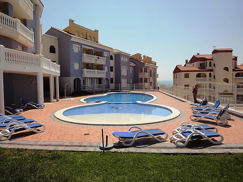Marcomar 68 1492587,Apartamento en Alcocéber-Alcossebre, Costa del Azahar, España  con piscina privada para 8 personas...