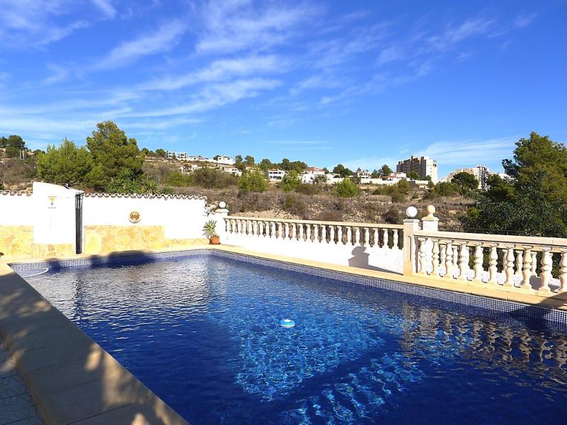 Don simn 1492962,Villa  con piscina privada en Calpe, en la Costa Blanca, España para 12 personas...