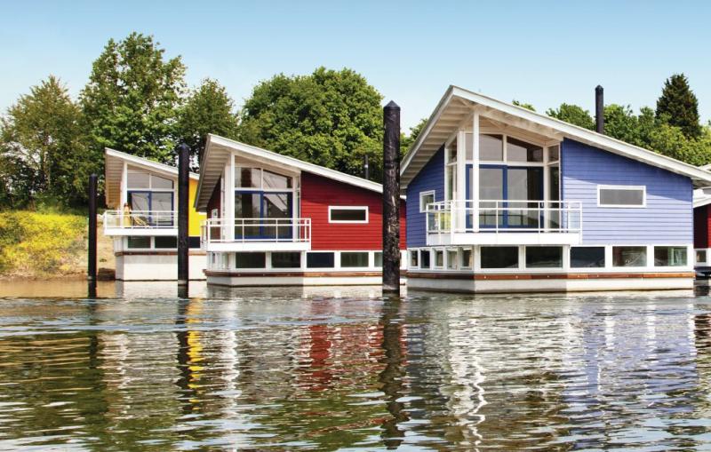 Maasvilla  amfibie nr 31 1179110,Vivienda de vacaciones en Ohé En Laak, Limburg, Holanda para 6 personas...