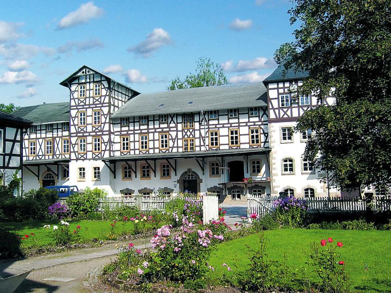 Kunstmhle 145386,Cuarto de hotel en Kleinhettstedt, Thuringian Forest, Alemania para 6 personas...