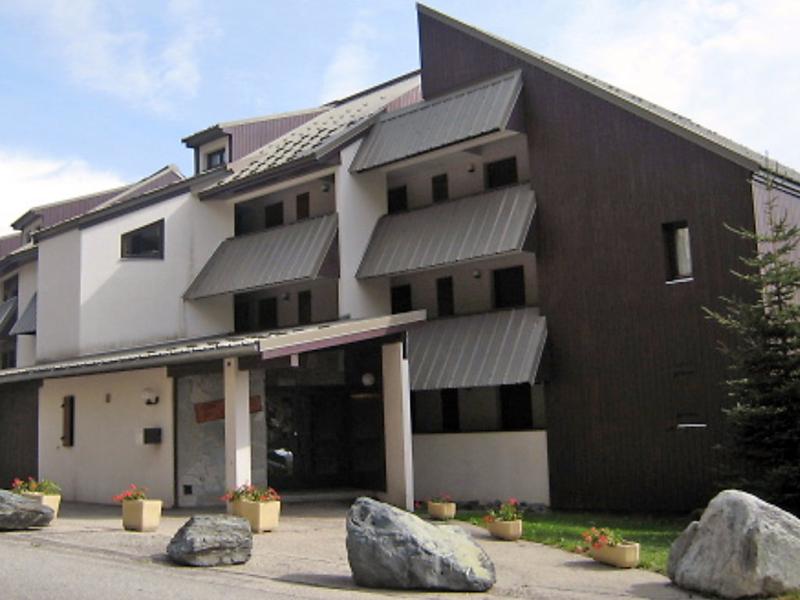 Les solaires 1410395,Cuarto de hotel en L'Alpe d'Huez, Aquitaine, Francia para 4 personas...