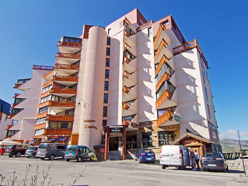 Les trois valles 1410768,Cuarto de hotel en Val Thorens, en los Alpes, Francia para 4 personas...