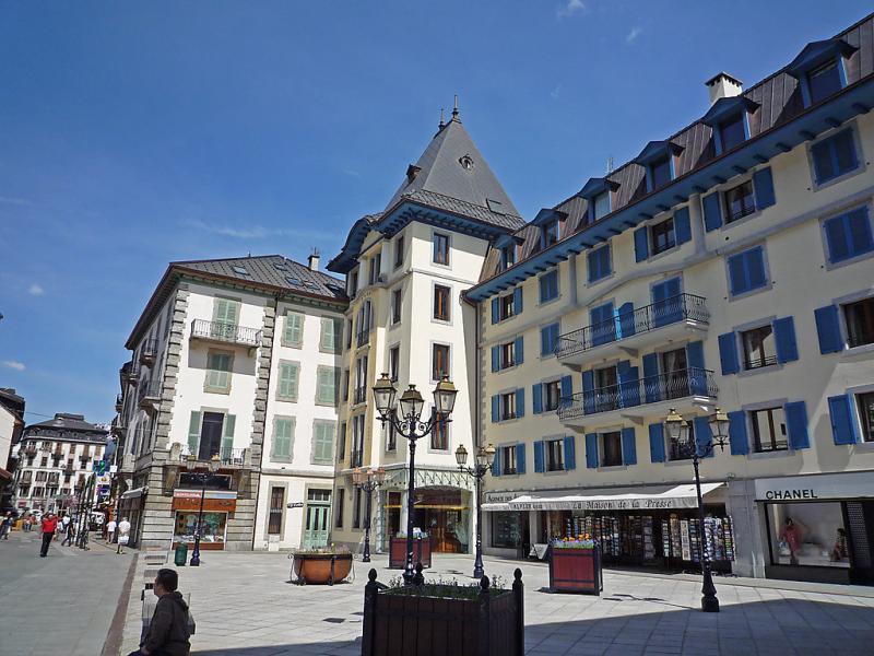 Les evettes 1411187,Cuarto de hotel en Chamonix, Mont-Blanc, Francia para 4 personas...