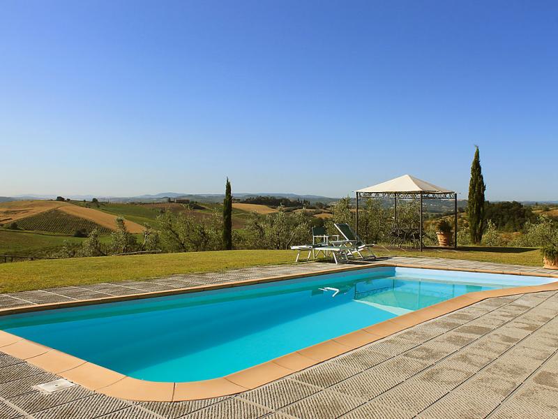 Veneri 1414528,Cuarto de hotel  con piscina privada en Vinci, en Toscana, Italia para 4 personas...