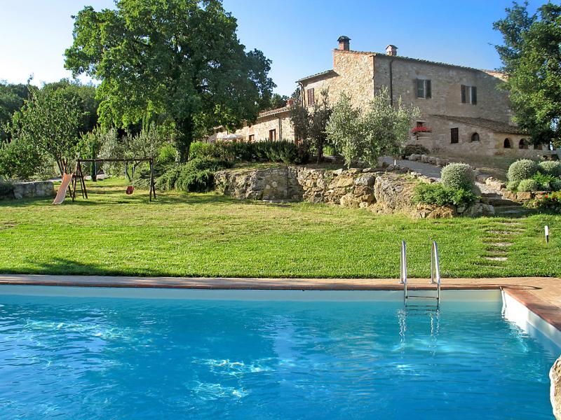 San lorenzo 1414597,Casa rural en Gambassi Terme, en Toscana, Italia  con piscina privada para 6 personas...