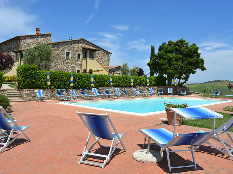 San pietro 1414666,Casa rural  con piscina privada en Montecatini Val di Cecina, en Toscana, Italia para 5 personas...