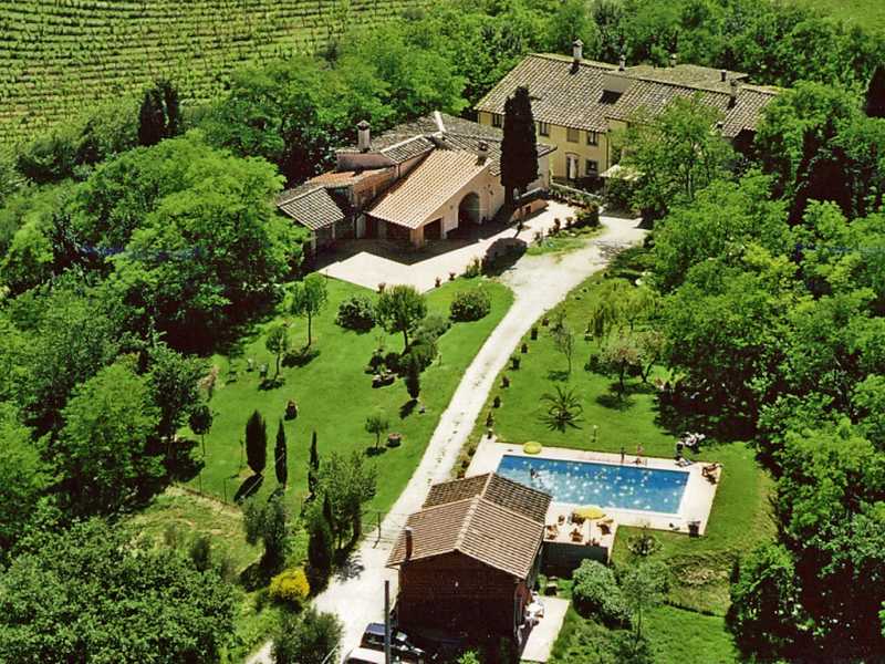 Melograni 1414720,Casa rural en Castelfiorentino, en Toscana, Italia  con piscina privada para 4 personas...