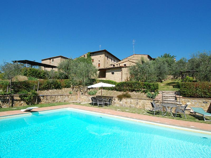 Holes 1414742,Casa rural  con piscina privada en Castellina in Chianti, en Toscana, Italia para 5 personas...
