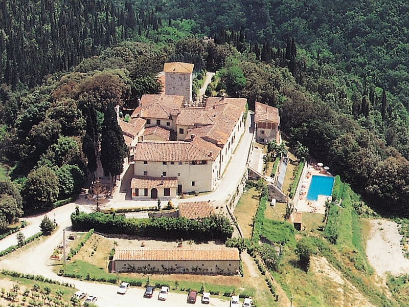 Fattoria di castiglionchio 1414752,Casa rural  con piscina privada en Pontassieve, en Toscana, Italia para 4 personas...