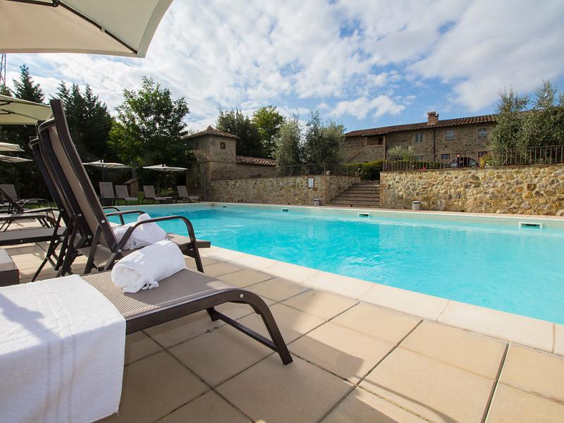 La corte 1414771,Casa rural en Colle Val d'Elsa, Chianti, Italia  con piscina privada para 8 personas...