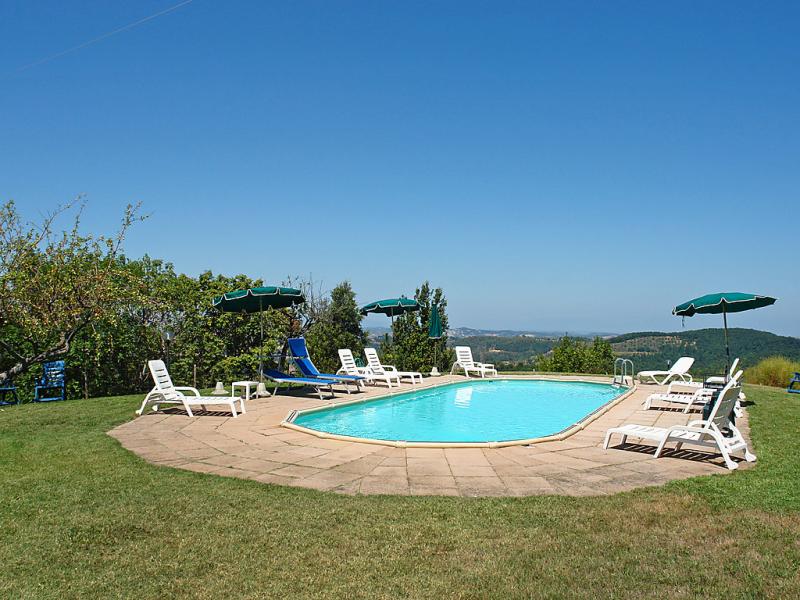 Poggio al colle 1414948,Casa rural en Montaione, en Toscana, Italia  con piscina privada para 13 personas...