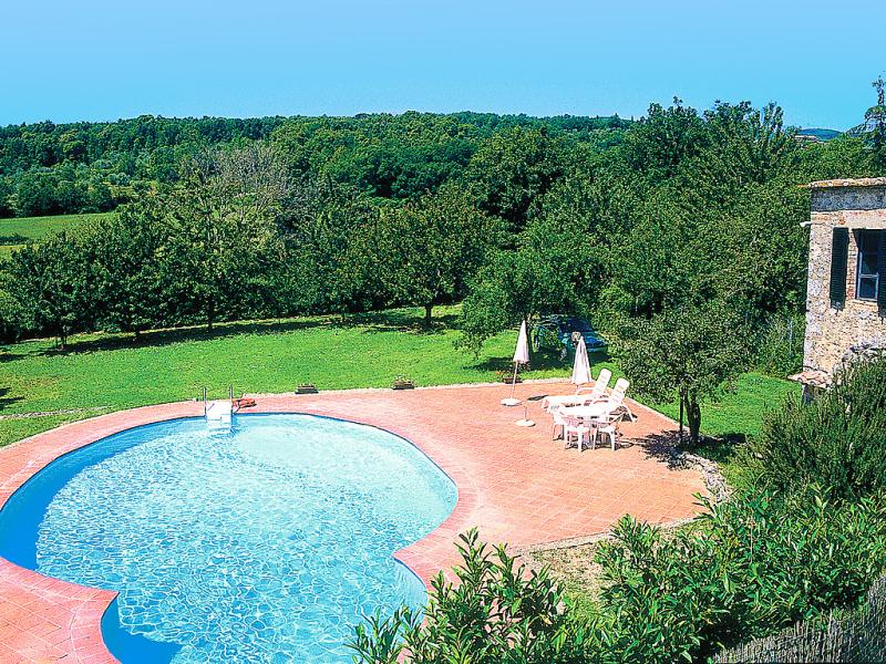 Il valacchio 1414964,Casa rural  con piscina privada en Sovicille, en Toscana, Italia para 4 personas...