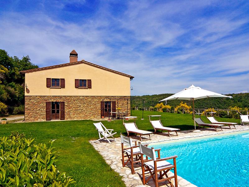 Villa la piaggia 1415155,Casa rural  con piscina privada en Arezzo, en Toscana, Italia para 10 personas...