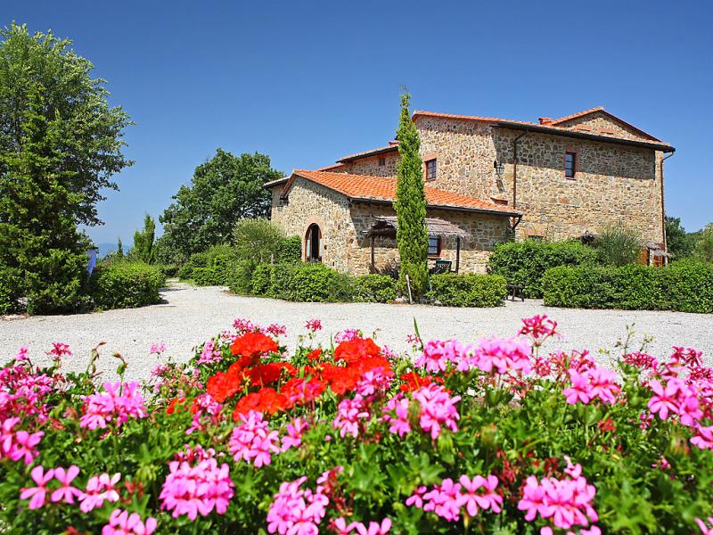 Il gufo n1 1415224,Casa rural  con piscina privada en Gaiole in Chianti, en Toscana, Italia para 16 personas...