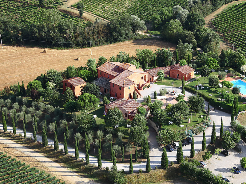 More 1415352,Casa rural  con piscina privada en Montepulciano, en Toscana, Italia para 4 personas...