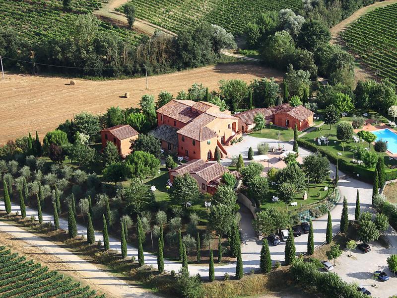 More 1415354,Casa rural  con piscina privada en Montepulciano, en Toscana, Italia para 5 personas...