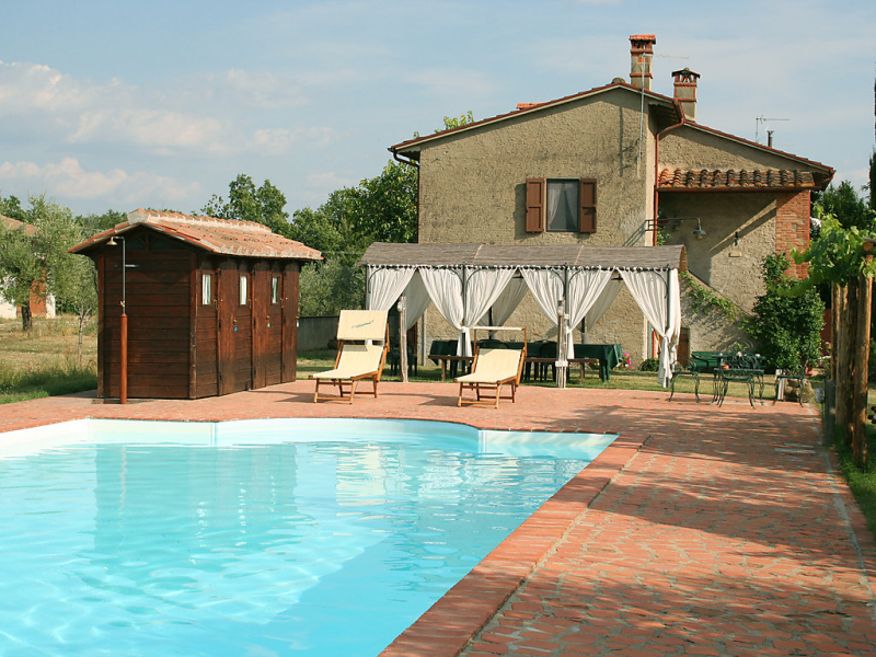 Campolacconi 1415368,Casa rural  con piscina privada en Terranuova Bracciolini, en Toscana, Italia para 8 personas...