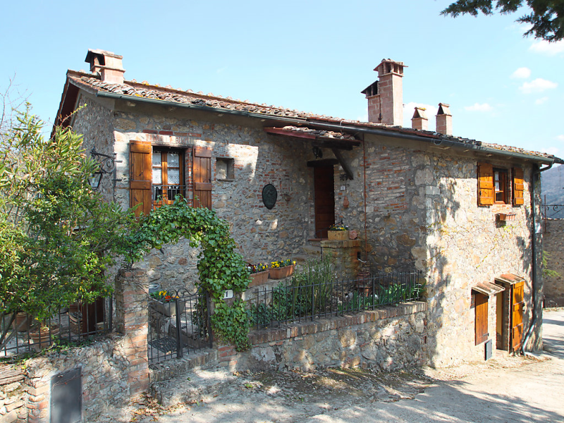 Il casale 1415502,Casa rural en Monticiano, en Toscana, Italia para 5 personas...