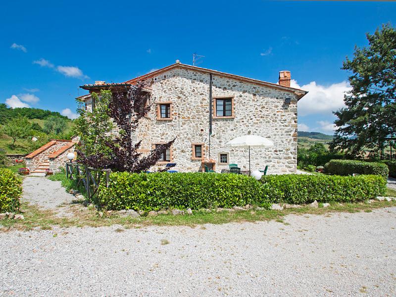 1415573,Casa rural  con piscina privada en Arcidosso, en Toscana, Italia para 4 personas...