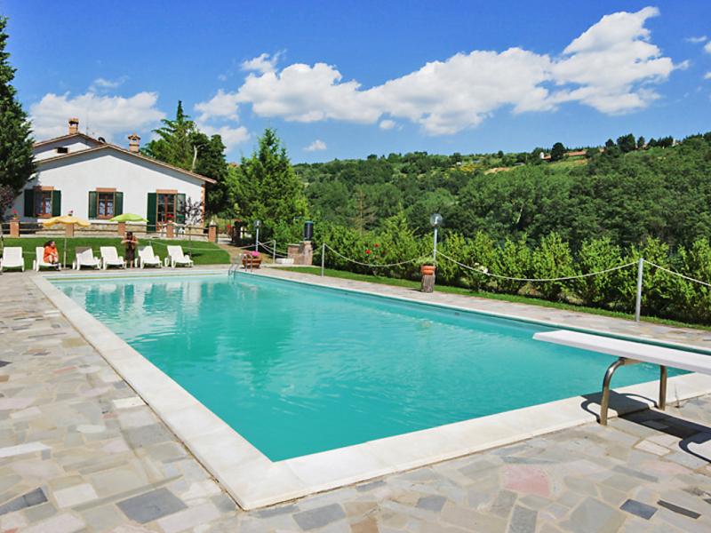 Poggio s vito 1415694,Cuarto de hotel en Tavernelle, Umbria, Italia  con piscina privada para 4 personas...