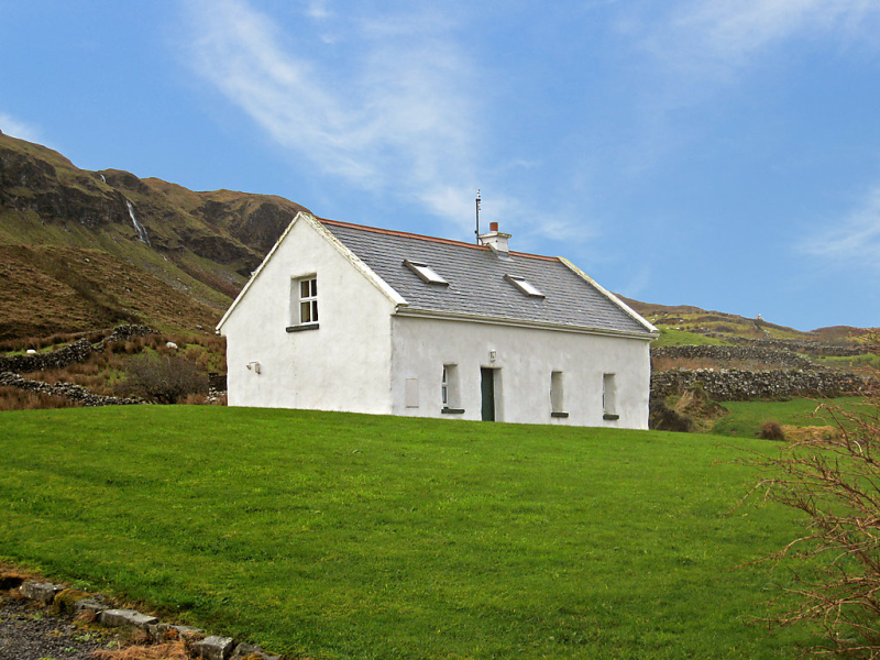 Coolin cottage 1416827, Maison rurale à Clonbur, West Ireland, Irlande pour 4 personnes...