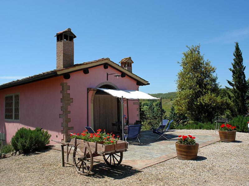 Il vallone 1421720,Casa rural en Certaldo, en Toscana, Italia  con piscina privada para 6 personas...