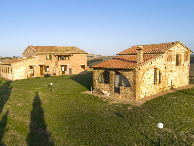 Capanna 1421723,Casa rural en Siena, en Toscana, Italia  con piscina privada para 6 personas...