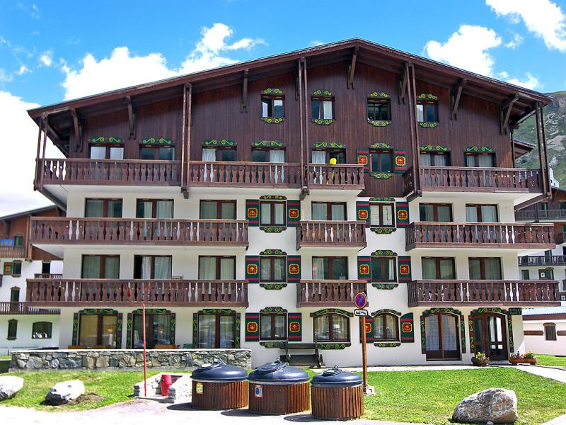 Chalet club 1422035,Cuarto de hotel en Tignes, Rhône-Alpes, Francia para 3 personas...
