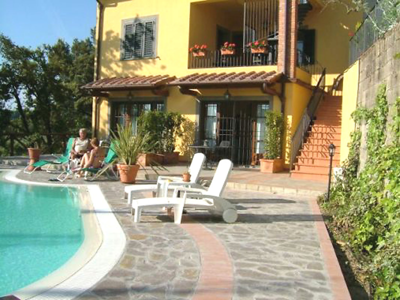 Poggio alla baghera 1430387, Hotel room in Vinci, in Tuscany, Italy  with private pool for 4 persons...