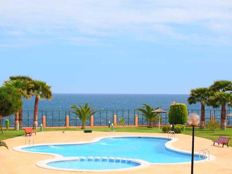 Las calitas bloque iii 1430917,Cuarto de hotel en Orihuela Costa, en la Costa Blanca, España  con piscina privada para 6 personas...