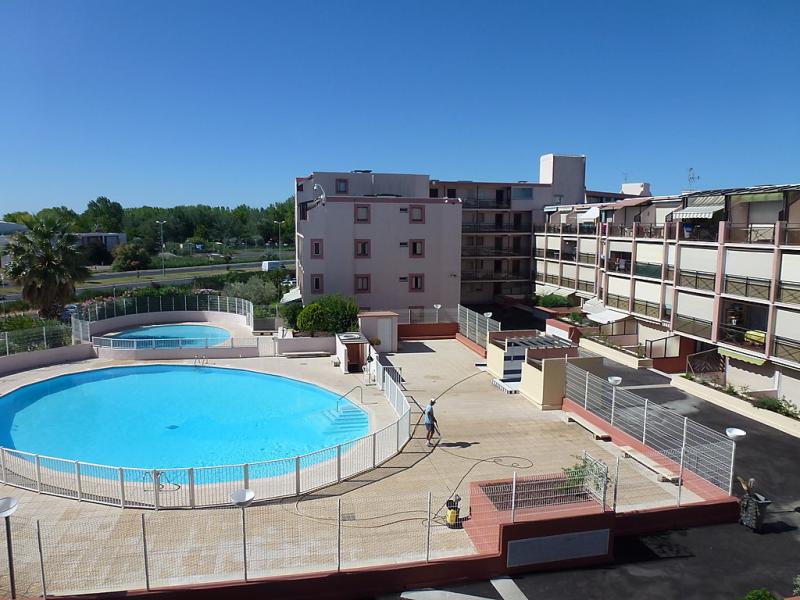 Le lagon bleu 1440278,Cuarto de hotel en Le Grau-Du-Roi, Languedoc-Roussillon, Francia  con piscina privada para 3 personas...
