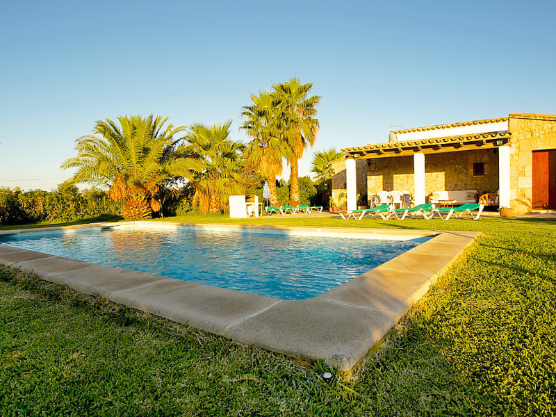 Can mateu 1441045, Rural house in Pollença, Mallorca, Spain  with private pool for 6 persons...