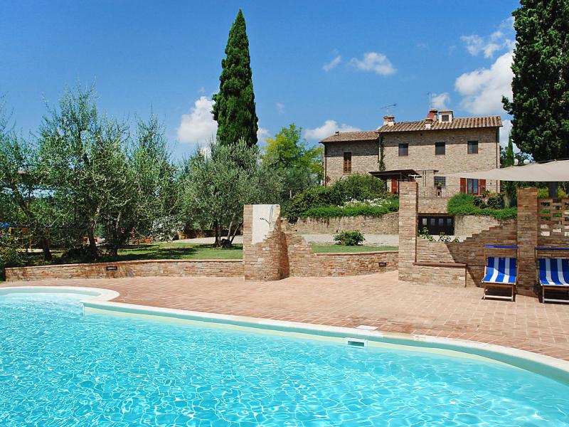 Il casolarino 1441683,Casa rural  con piscina privada en Certaldo, en Toscana, Italia para 6 personas...