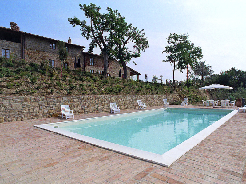 Galileo 1446140,Casa rural  con piscina privada en Montaione, en Toscana, Italia para 4 personas...