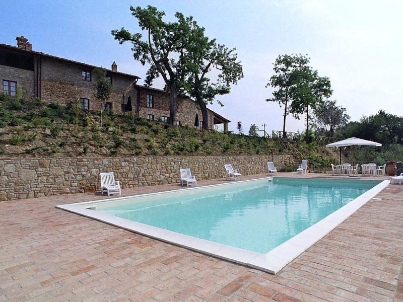 Raffaello 1446141,Casa rural  con piscina privada en Montaione, en Toscana, Italia para 6 personas...