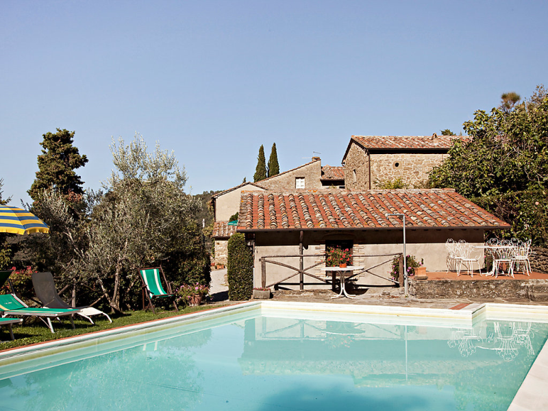 Borgo elena 1452237,Casa rural  con piscina privada en Cortona, en Toscana, Italia para 5 personas...