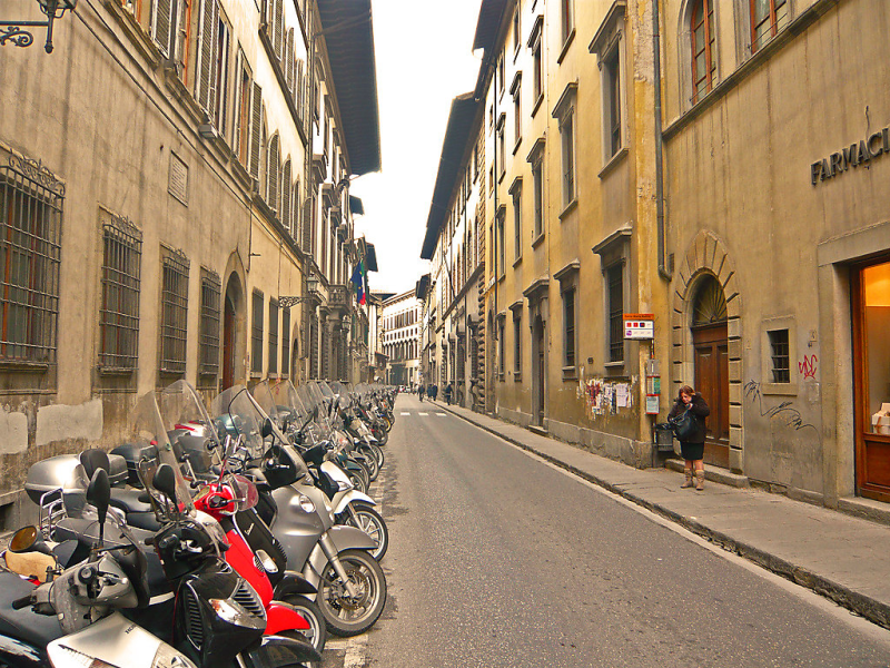 Bufalini 2  raffaello 1455186,Cuarto de hotel en Florence, Tuscany, Italia para 4 personas...