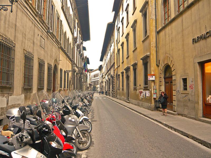 Bufalini 3  michelangelo 1455187,Cuarto de hotel en Florence, Tuscany, Italia para 4 personas...
